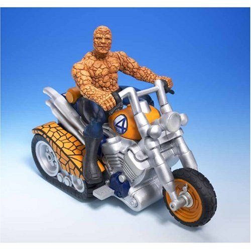 Fantastic Four Bump 'N Go Vehicle: Thing Motorcycle with Lig