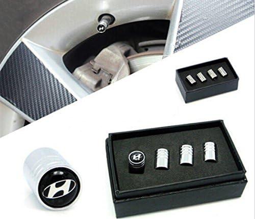 Santa Fe ix35 i10 i20 i30 i40 Tucson Protrex UK /® Deluxe Wheel Valve Dust Caps