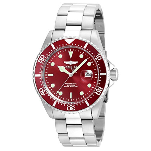 Invicta-Mens-Pro-Diver-Quartz-Stainless-Steel-Diving-Watch-ColorSilver-Toned-Model-22048
