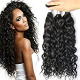 Brazilian water wave virgin hair Bundles cheap Brazilian hair 3 pcs lot unprocessed virgin Brazilian hair natural wave human hair extensions Review