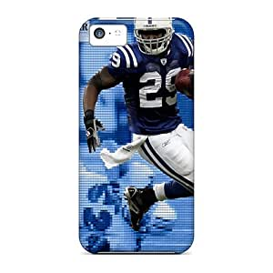 Excellent Design Indianapolis Colts Phone Case For Iphone 5c Premium Tpu Case