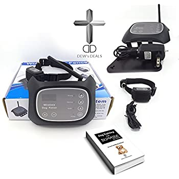 Amazon Com Dog Fence Wireless Containment System