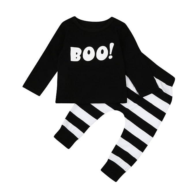 Halloween Kids Baby Boys Little Devil Costume Hoodies Shirt Pants Trousers Hot