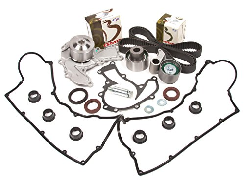 Evergreen TBK221VCT Acura Honda Isuzu Rodeo Trooper 3.2L 6VD1 Timing Belt Kit Valve Cover Gasket Water Pump