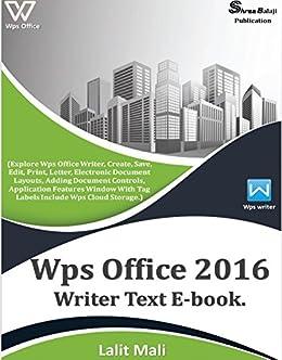 Amazon com: Wps office 2016 writer eBook : (Explore Wps office