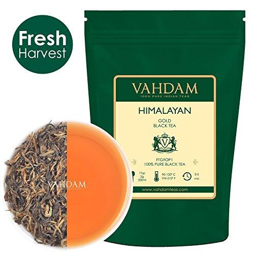 VAHDAM, Himalayan Gold Black Tea  | 100% PURE Black Tea Leav