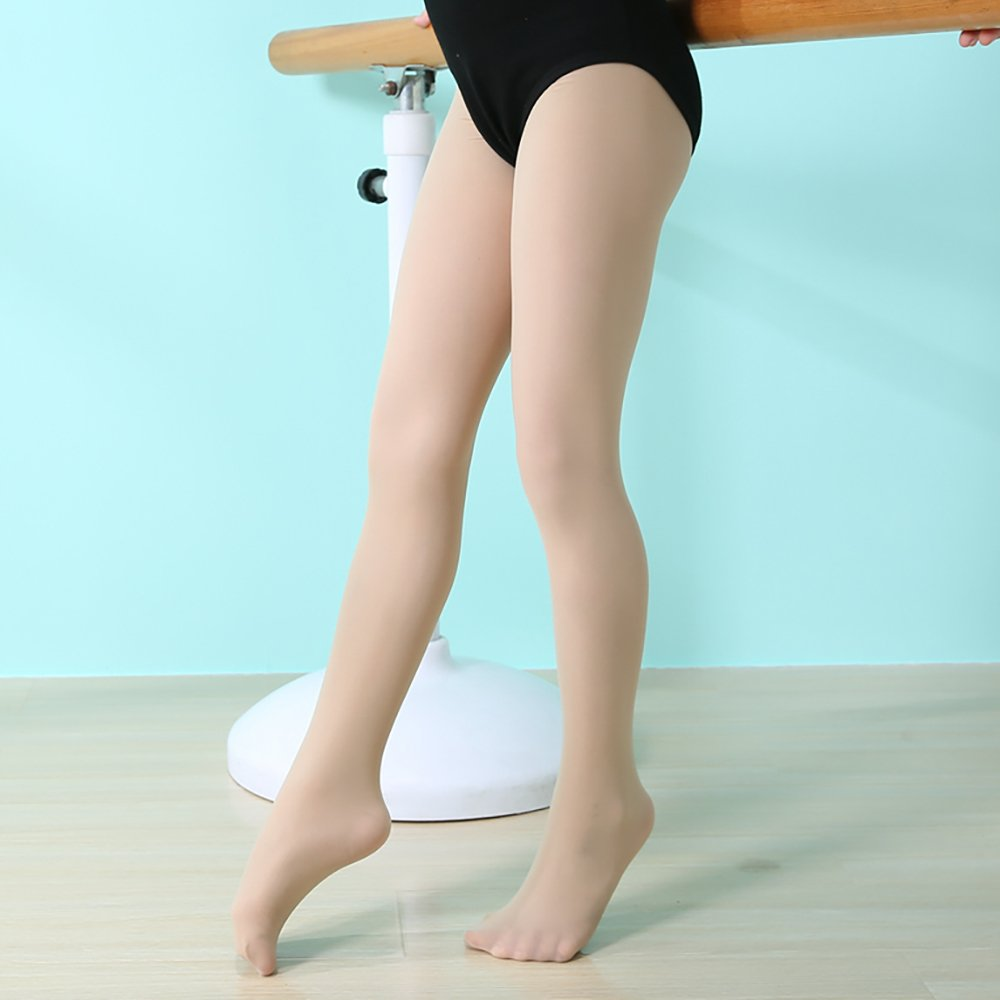 Ballet Dance Tights Ultra Soft Transition Girls Student Footed Tight Toddler//Little Kid//Big Kid