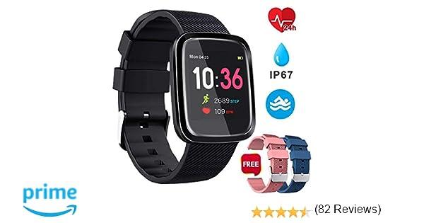 Smartwatch Reloj Inteligente Deportivo Pulsera Actividad ...