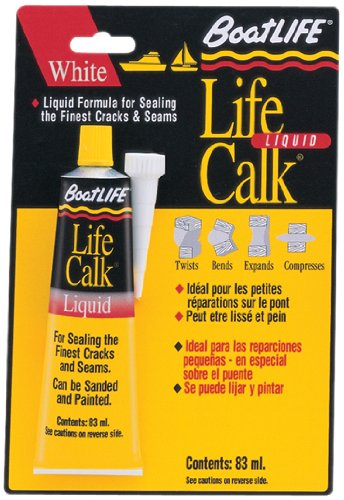 Boatlife Life Caulk - Boat Life Sealant Lifecalk Tube, White