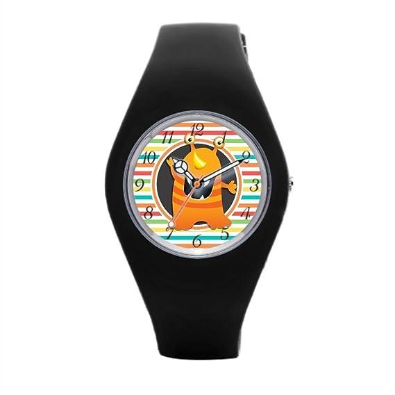 Cute para la práctica de deportes reloj patrón reloj de pulsera marcas