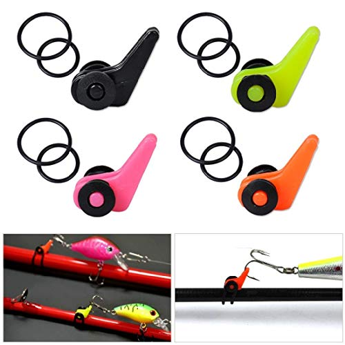 Utility Fishing Rod Pole Hook Keeper Lure Spoon Bait Tackle Accessories ()