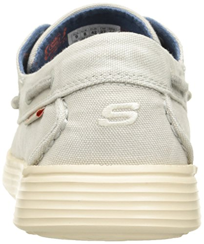 Skechers Status- Melec - Zapatillas de Deporte Para Hombre Off White