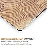 YMIX Macbook Air 13 Inch Case,Soft Touch Wood Grain