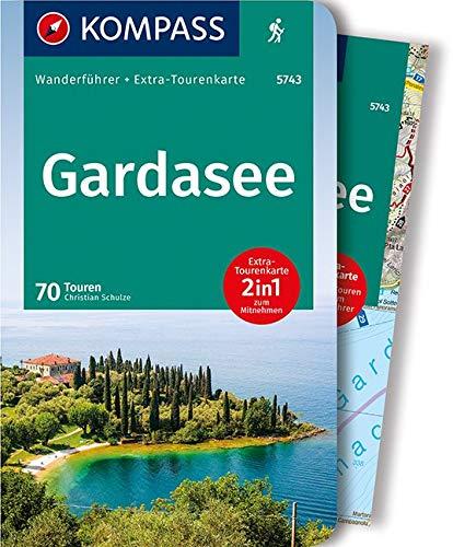 KOMPASS Wanderführer Gardasee  Wanderführer Mit Extra Tourenkarte 1 60.000 70 Touren GPX Daten Zum Download.