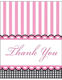 Creative Converting Sweet Baby Feet Pink Thank You Notes, 8-Count BOBEBE Online Baby Store From New York to Miami and Los Angeles