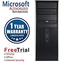 HP 7800 Business High Performance Tower Desktop Computer PC (Intel C2D E8400 3.0G,4G RAM DDR2,500G HDD,DVD-ROM,Windows 10 Professional)(Certified Refurbished)
