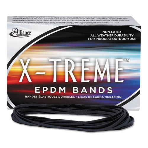 Epdm Rubber Bands - X-treme File Bands, #117B, 7 x 1/8, Black, Approx. 175 Bands/1lb Box, Sold as 1 Pound