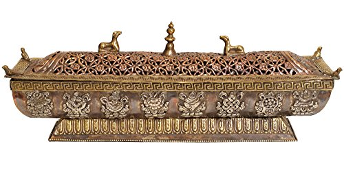 Exotic-India-ZBS80-Tibetan-Buddhist-Incense-Burner