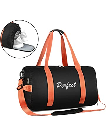 997d7a7c86 TOPSEFU Dry Wet Separated Sports Gym Bag with Shoes Compartment, Gym Duffle  Holdall Bag Training