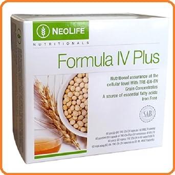 neolife fórmula IV Plus con adicional apoyo mineral y 50% más tre-en ...
