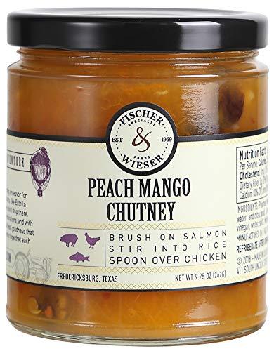 - Fischer & Wieser Peach Mango Chutney (Pack of 2)