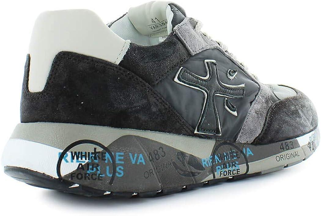 PREMIATA Herren Schuhe Sneaker Zaczac 3547 Grau Herbst