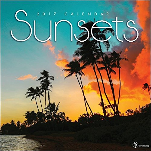 TF Publishing 17-1095 Wall Calendar 2017, Sunsets