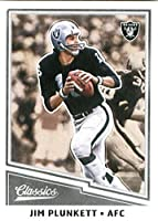 2017 Panini Classic #160 Jim Plunkett Oakland Raiders Football Card