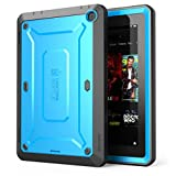 Fire HD 7 Case, SUPCASE [Heavy Duty] Fire HD 7 Case (4th Generation) [Unicorn Beetle PRO Series] Full-body Rugged Hybrid Protective Case Cover with Built-in Screen Protector for Fire HD 7, Blue/Black
