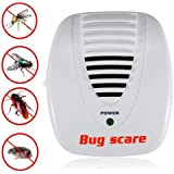 Electronic Ultrasonic Mosquito Mouse Pest Control Repeller Bug Scare