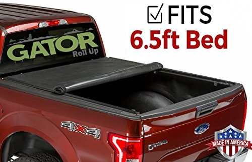 Ford F150 Tonneau - Gator ETX Soft Roll Up Truck Bed Tonneau Cover | 53307 | fits 04-14 Ford F-150 , 6.6' Bed | Made in the USA