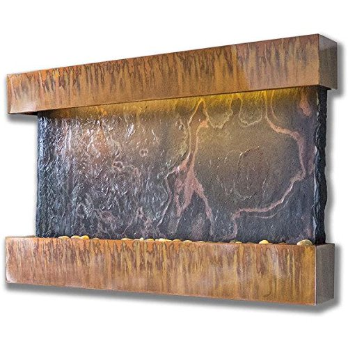 BluWorld Horizon Falls Indoor Wall Fountain Medium
