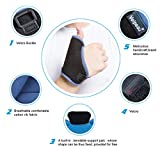 Arthritis Thumb Splint - Thumb Spica Support Brace -Wrist Strap - for Pain, Sprains, Strains, Arthritis, Carpal Tunnel & Trigger Thumb Immobilizer - Left or Right Hand(Large)
