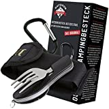 OUTDOOR FREAKZ Outdoor cutlery and camping cutlery foldable made of stainless steel