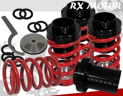 1990-1997 Mazda Miata Mx-5 Mx5 Scale Coilover Springs Lowering Red Drop Kit Miata Lowering Springs