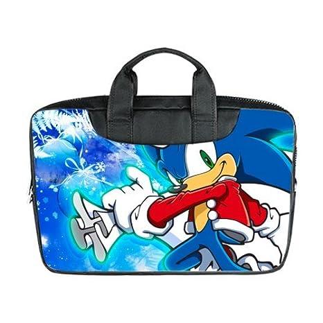 Portátil ordenador portátil Bolso personalizado Sonic el erizo duradera funda de bolsa para portátil para MacBook