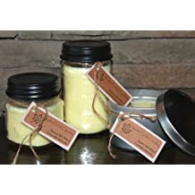 Maple Creek Candles STRAWBERRY CHEESECAKE ~ Smells Awesome ~ Soy Wax Blend 16oz jar candle