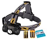 Bundle- 4 items: Fenix HL35 450 Lumen Cree XP-G2 LED Headlamp, 2 x Fenix ARB-L14-800 14500 Rechargeable Batteries, LumenTac Battery Organizer