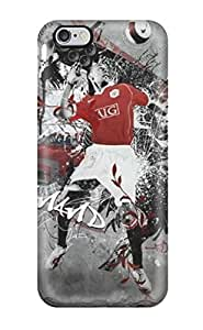 Slim Fit Tpu Protector Shock Absorbent Bumper Rio Ferdinand Case For Iphone 6 Plus