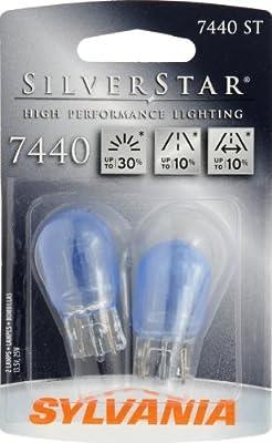 Sylvania 7440 ST SilverStar High Performance Halogen Miniature Lamp, (Pack of 2)