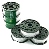 HaRuion String Trimmer Replacement Spool,Weed Eater Spool,Compatible with Black and Decker Spool Replacement,30ft 0.065'' Trimmer String Line,3-Pack