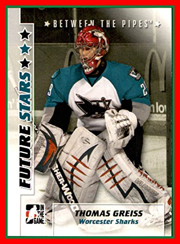 2007-08 Between The Pipes #51 Thomas Greiss WORCESTER SHARKS ()