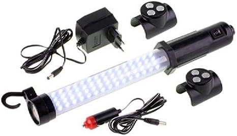 Wiederaufladbare LED Arbeitslampe mit Kfz Ladekabel Akku Stableuchte magnetisch
