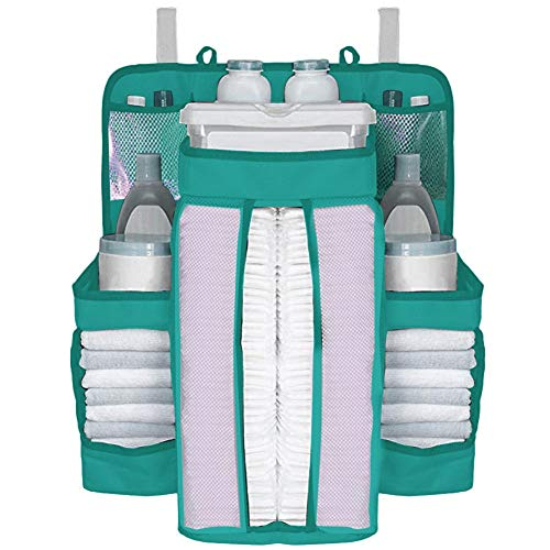 3aef685aebcf3 ベビーベッド収納袋 吊り袋 ポケット収納 片付け オモチャ収納袋 ミルクパウダー ボトル 小
