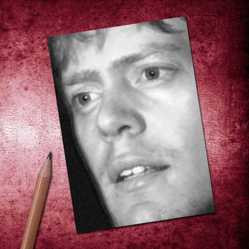 Seasons KRIS MARSHALL - ACEO Sketch Card (Signed by the Artist) #js002