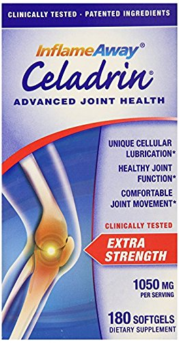Celadrin® Advanced Joint Health 1050 Mg, Familly size, Pack of 3 (Total 540 Softgels ) by Celadrin