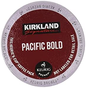 Kirkland Pacific Bold K Cups 100 Count Amazon Ca Grocery