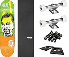 """This professional quality The Killing Floor Skateboards Tim Kerr Guest 3 Skateboard Deck measures 8.37"""" wide x 32"""" long and is suitable for every skill level from beginner to pro. A versatile deck that's perfect for street, pool, park and ver..."""