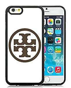 Fashionable And Durable Custom Designed Cover Case For iPhone 6 4.7 Inch TPU With Tory Burch 08 Black Phone Case