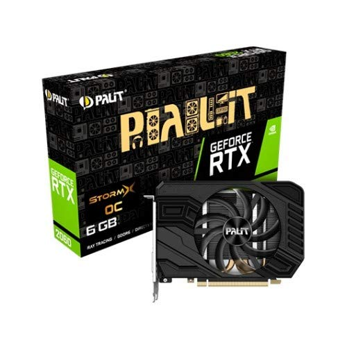 Palit PCIe RTX2060 StormX OC 6GB DDR6 schede grafiche